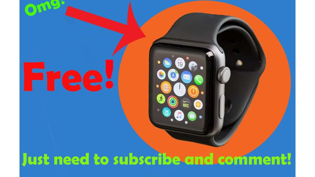 Free apple watch series 2 giveaway