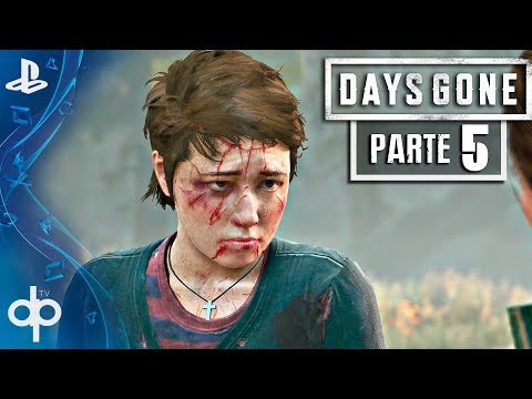 DAYS GONE Gameplay Español Parte 5 PS4 PRO | Fuga de Hot Springs | Walkthrough | Español