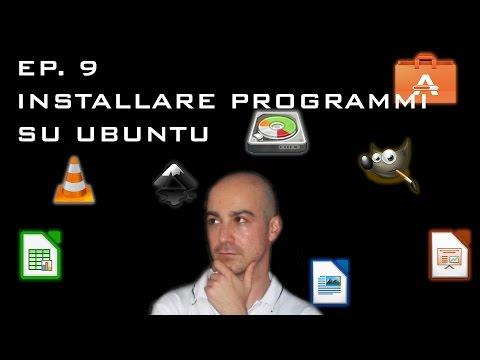 Installare programmi su Ubuntu