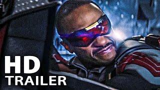 THE FALCON AND THE WINTER SOLDIER Neuer Trailer Deutsch German (2021)