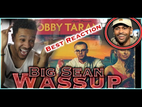 😂💀 LOGIC BODIES BIG SEAN! Wassup (feat. Big Sean) - REACTION 💀😂