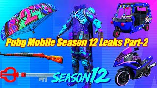 PUBG MOBILE SEASON 12 LEAKS | PUBG MOBILE SEASON 12 ROYALE PASS LEAKS  PART-2