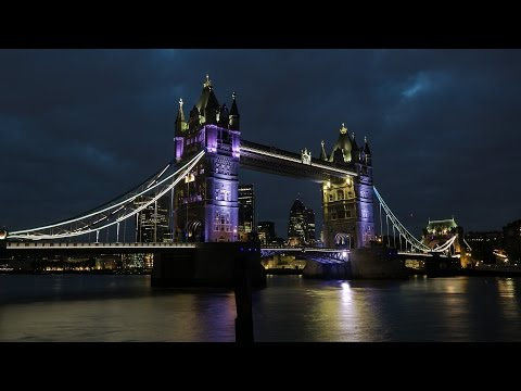 Tower Bridge, London - in timelapse