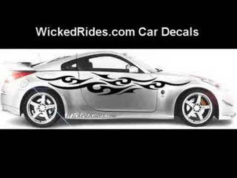 CAR DECALS FREAKING CRaZY BeWaRe AWESOME YouTube - Custom decal graphics on vehiclescar decals on decaldrivewaycom car decals custom decals car