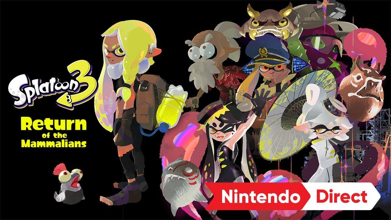 スプラトゥーン3 [Nintendo Direct 2021.9.24]