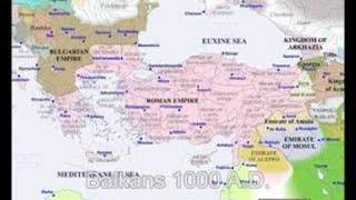 Historical maps of the Balkans (1 A.D. - 2000 A.D.)
