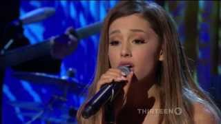 Download Performing on percussion with Ariana Grande:
