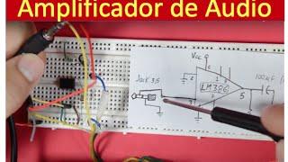 ✅ Amplificador de Audio USB para su Teléfono Celular, MP4 o PC. Muy fácil de hacer