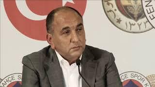 CANLI   Fenerbahçe İkinci Başkanı Semih Özsoy basın toplantısı düzenliyor