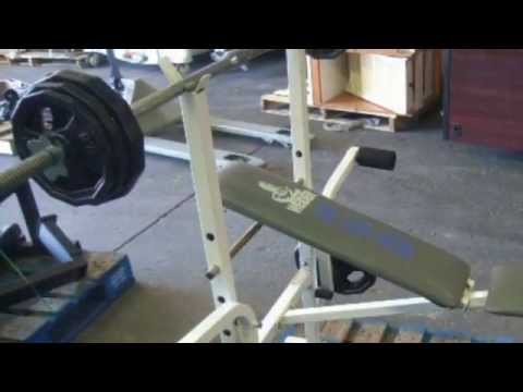 Weider 138 Weight Bench on GovLiquidation