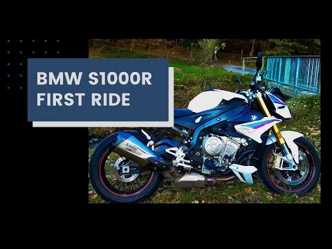 2018 BMW S 1000 R    First Ride   Review   EN/DE Subs
