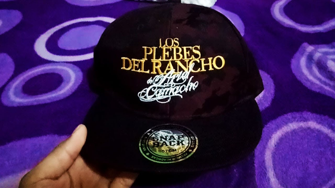 Sorteo gorra de los plebes del rancho jose buchanans youtube jpg 1280x720 Gorra  los plebes logog 62fd0d7130d