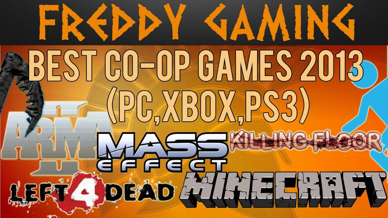 Xbox 360 Games 2013 Best Co-op Game...