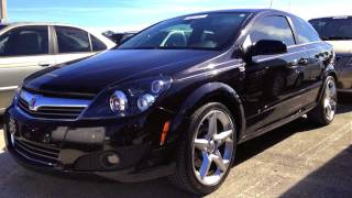 2008 Saturn Astra XR 2-DR Start Up, Quick Tour, & Rev With Exhaust View - 27K