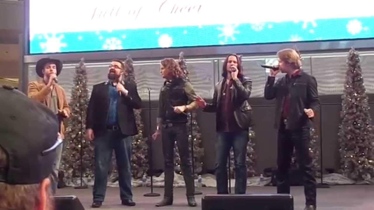 Home Free Kick S Off Full Of Cheer Tour At Mall Of America White Christmas Youtube