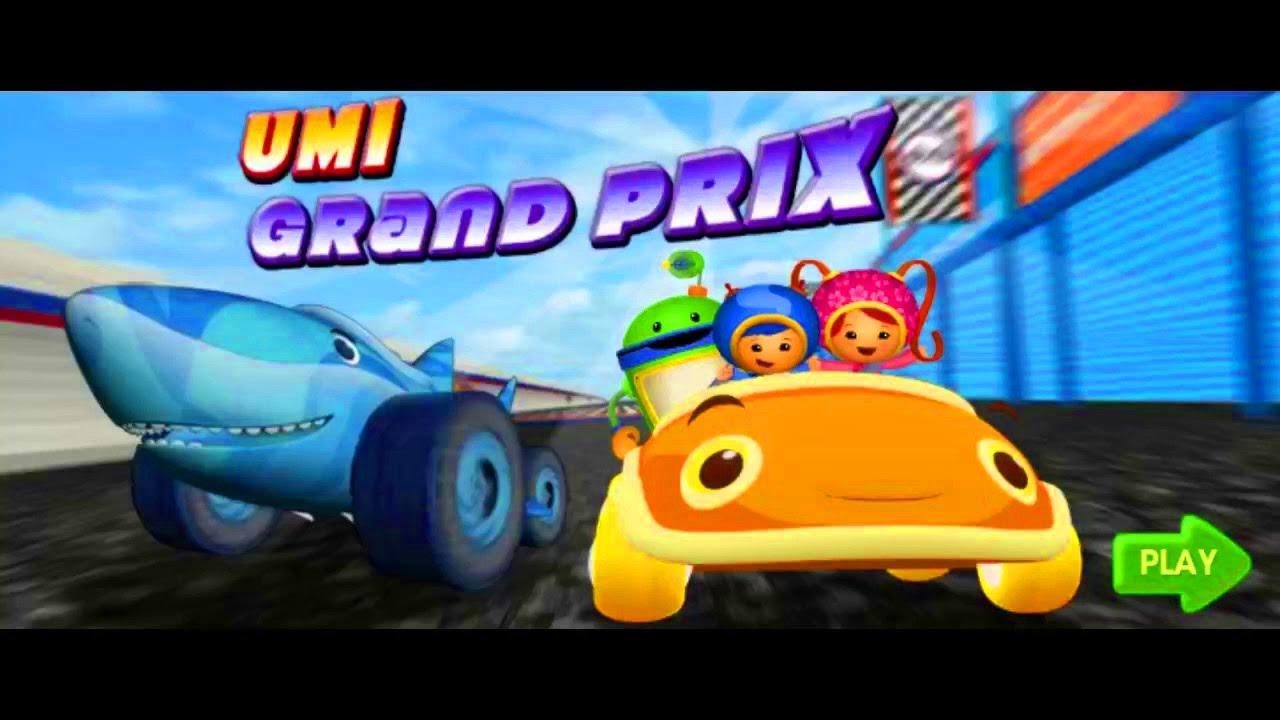 Team Umizoomi Umi Grand Prix Racing Game For Kids Youtube