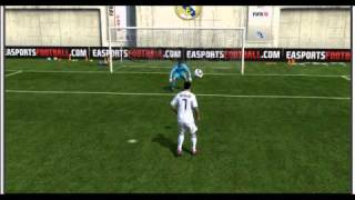 Fifa 11 chest flick by Cristiano Ronaldo arena ofc