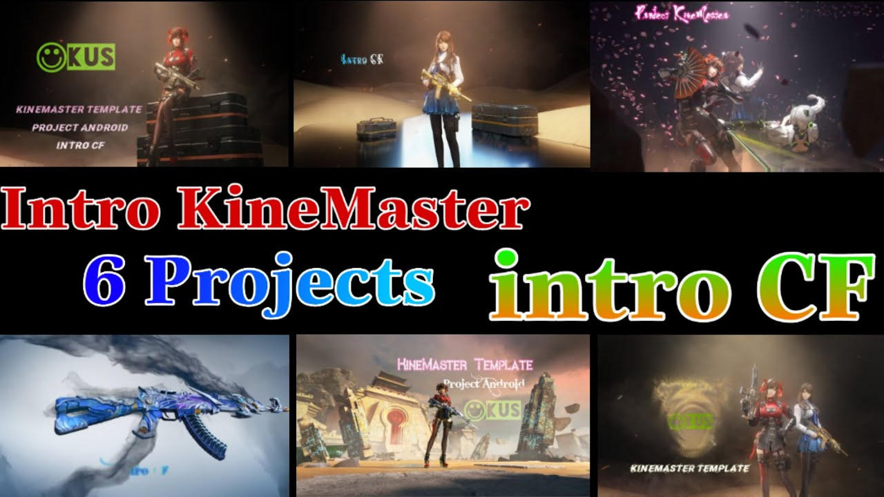 intro game CF - crossfire intro KineMaster