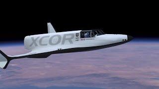 xcor aerospace boeing lynx spacecraft space flight simulation 1080p