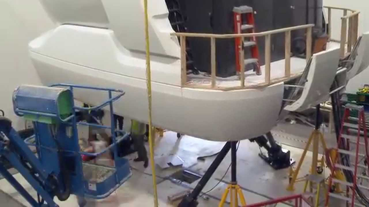 Alaska Airlines Newest Full Flight Simulator
