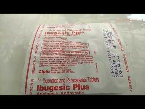 Ibugesic Plus Tablets Review Uses Waring Benefits In Hindi