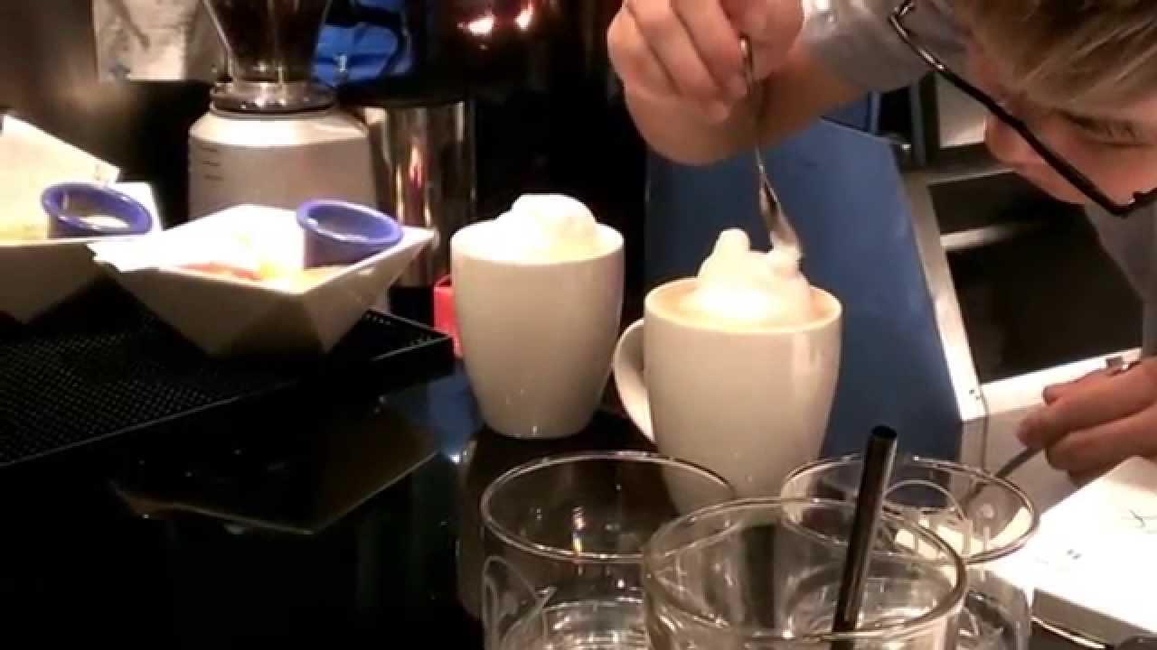 3D拉花製作過程 - YouTube