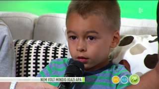 Pápai Joci tizenhárom éve nem alszik a feleségével - tv2.hu/fem3cafe