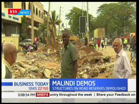 Business Today - 12th March 2018 - Malindi business community protest demolition of structures