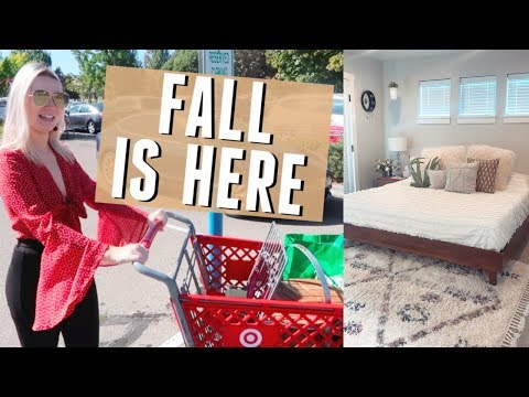VLOG | TARGET FALL SHOPPING VLOG + MY NEW BEDROOM!!