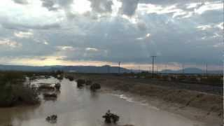 RAW VIDEO: Flooding sweeps through the Imperial Valley