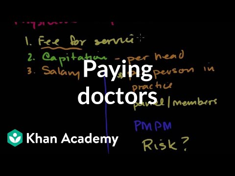 Paying Doctors   Health Care System   Heatlh & Medicine   Khan Academy