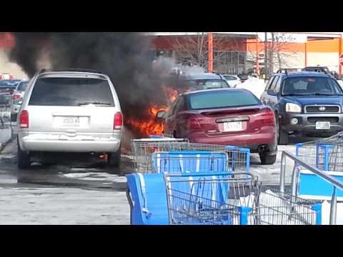 Plaistow, NH Walmart Car Fires