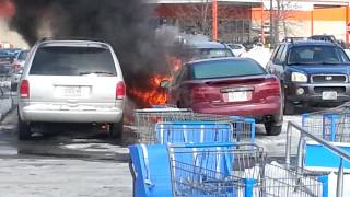 Plaistow, NH Walmart Car Fires