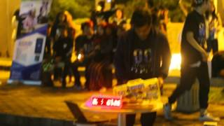 Earth Hour Padang At Tugu Gempa (The Ceremony)