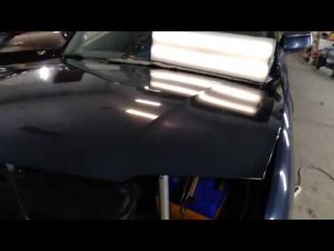 Ремонт вмятин без покраски Mazda 626 ( Capella )  1997  20180626 122234  часть 1