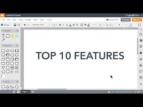 Lucidchart Tutorials - Top 10 Features to Increase Productivity