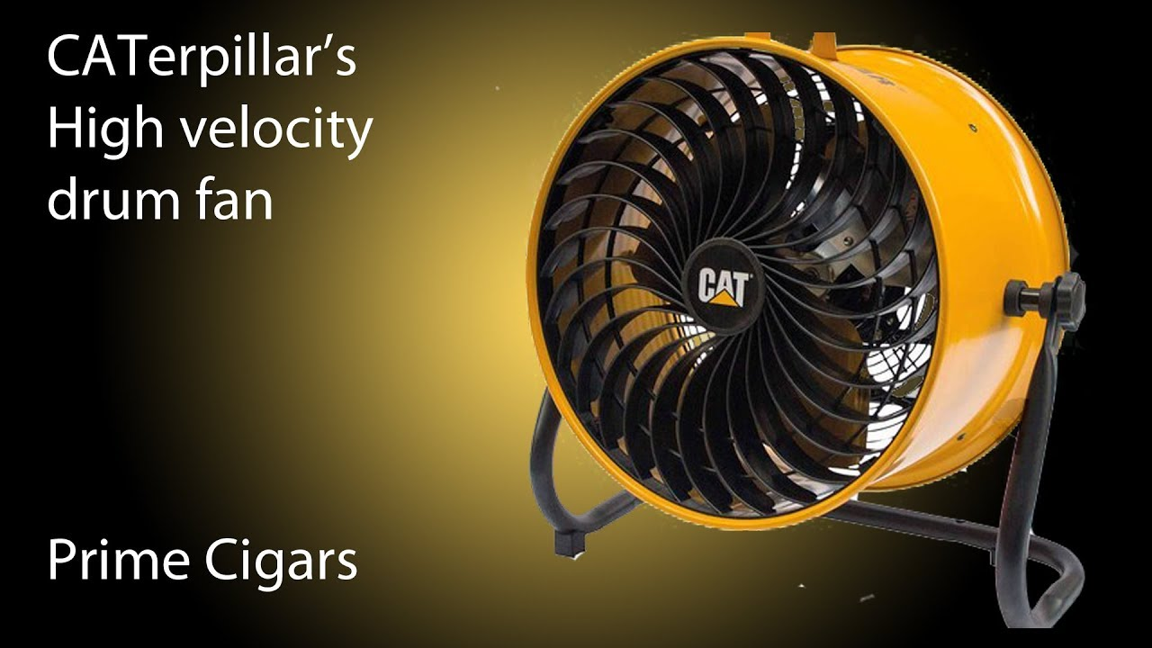 Caterpillar's High Velocity Drum fan