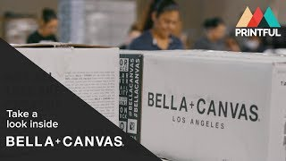 Bella + Canvas headquarters tour - Printful