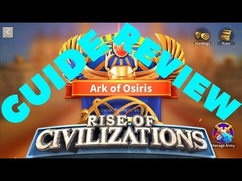 ARK OF OSIRIS FULL GUIDE AND REVIEW - ALLIANCE BATTLEGROUND - Rise Of Kingdoms