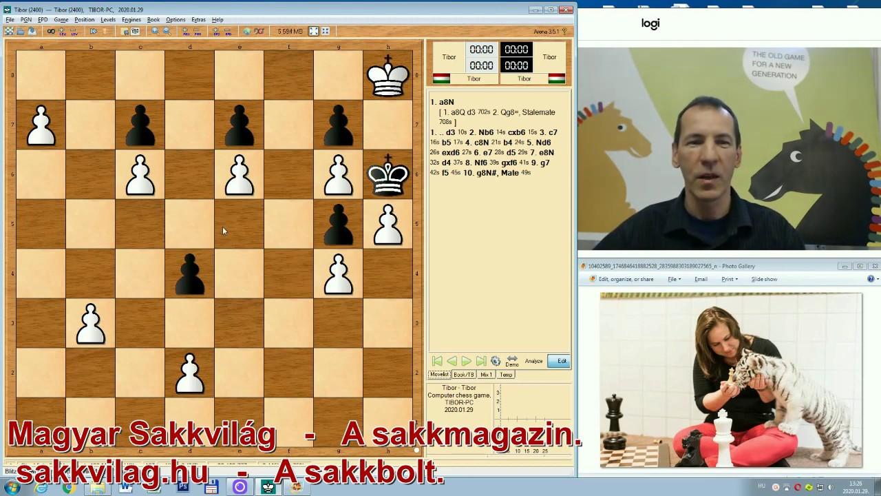 Jópofa sakkfeladat 1