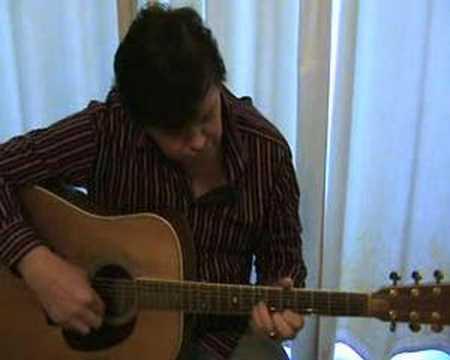 ACOUSTIC GUITAR PETER WILKINSON ORIGINAL TUNE 'CUMULUS'