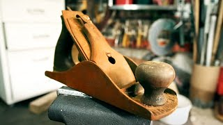 Antique Tool Restoration Rusty Bench Plane / Step By Step