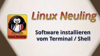 Ubuntu Software installieren über das Terminal