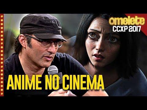 Animes no cinema com Robert Rodriguez na CCXP 2017