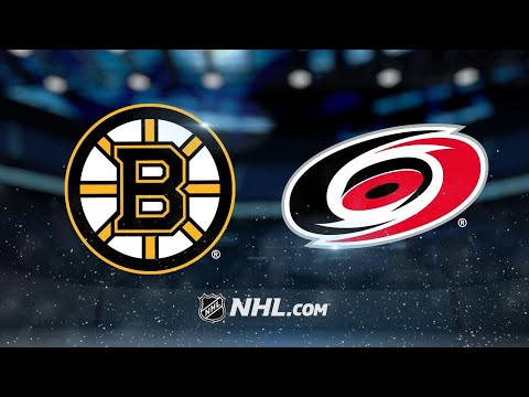 Pastrnak nets hat trick as Bruins rally to beat Canes