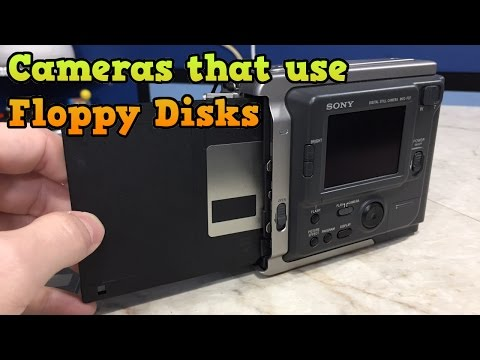 Back When Cameras Used... Floppy Disks?  Sony Mavica