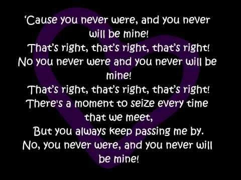 Rye Rye Ft. Robyn-Never Will Be Mine-Lyrics