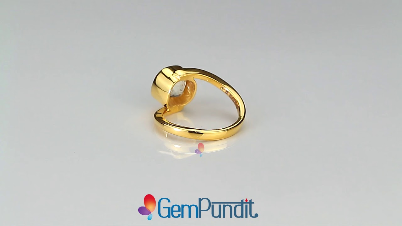 Buy Yellow Sapphire Rings Online - Pukhraj Rings for Sale