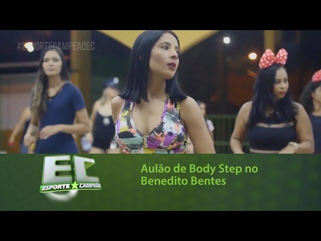 Aulão beneficente de Body Step no Benedito Bentes