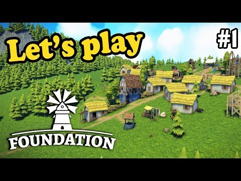 Let's build a city!  | Foundation | Ep. 1 | Medieval grid-less City Building Simulation Game (Alpha)